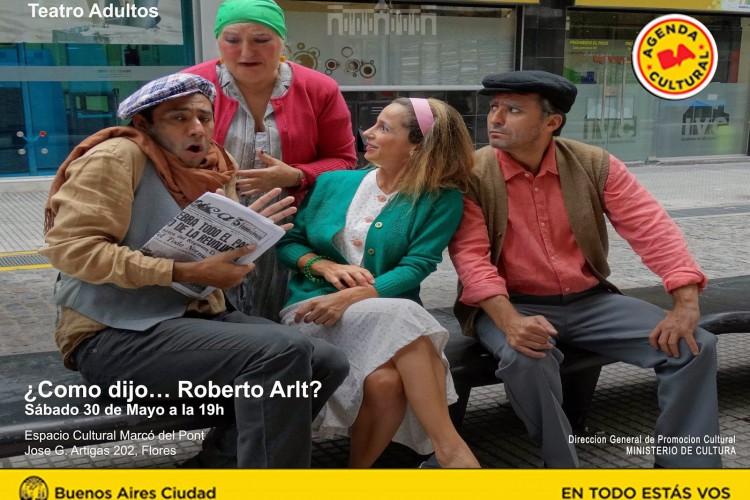 Como dijo Roberto Arlt Flyer