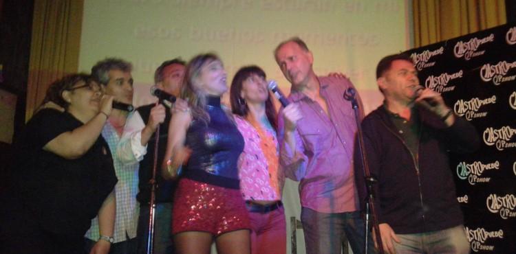 Noche de karaoke show y baile